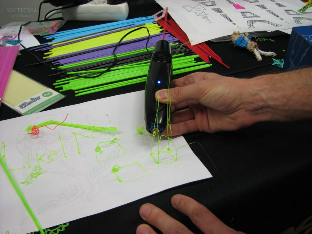 creating using the 3doodler pen