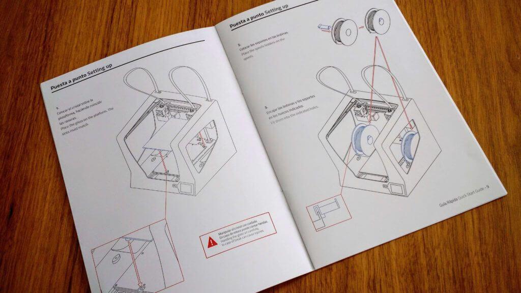 bcn3d printer instructions manual