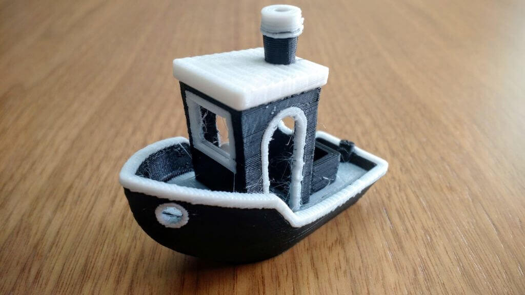 quality of the bcn3d printed model