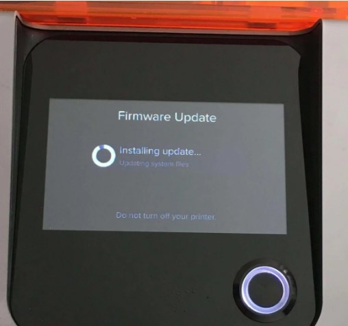 formlabs form 2 power button