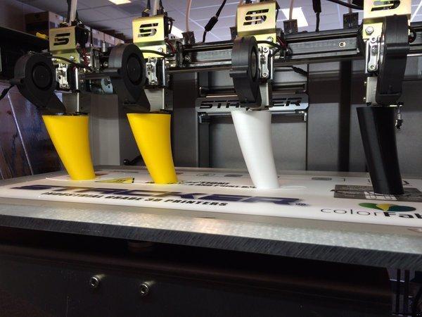 stacker s4 3d printer 4 heads