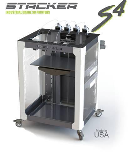 stacker s4 industrial 3d printer