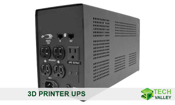 3d printer uninterrupted power supply