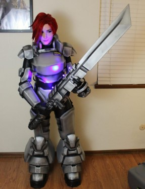 3d printed cosplay armor