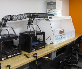 3d printer ventilation system