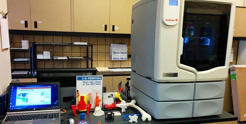 best 3d printer ups