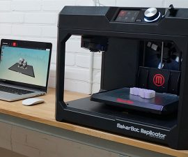 makerbot replicator plus review