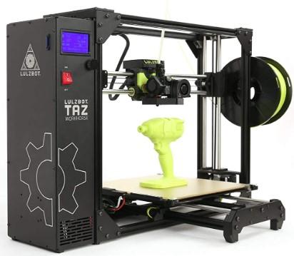 taz 6 workhorse 3d printer