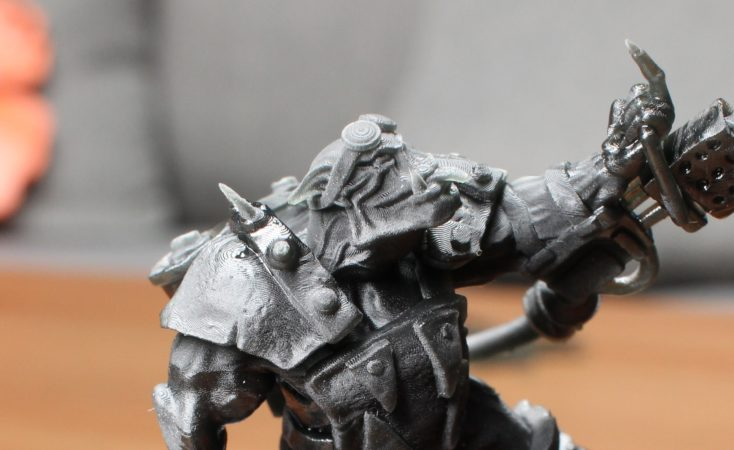elegoo mars ork print support partialy removed details