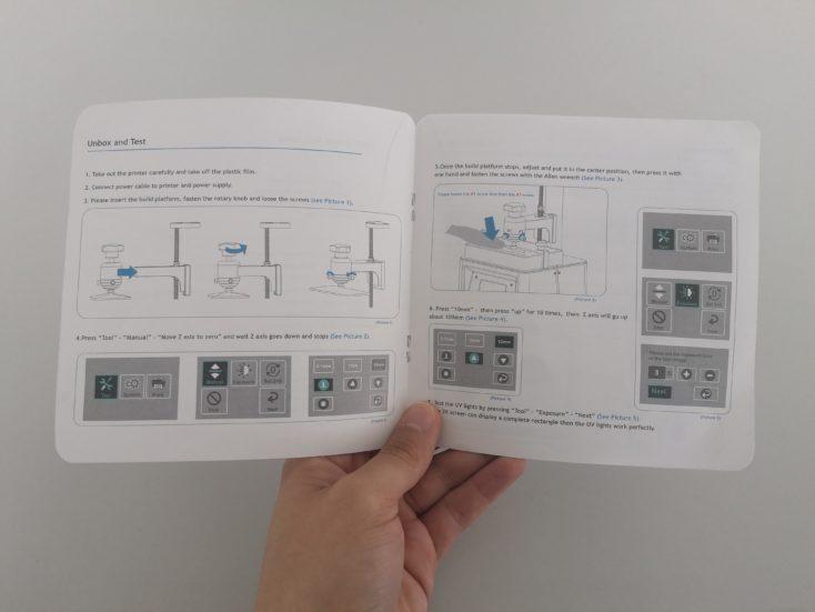 elegoo mars 3d printer instruction manual