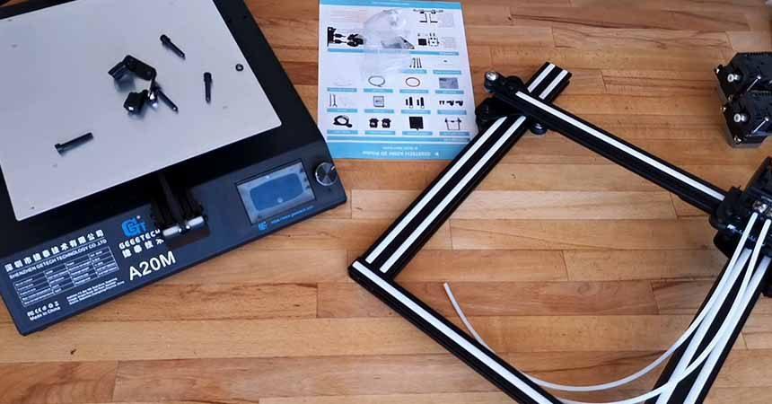 Geeetech A20M 3D Printer Review