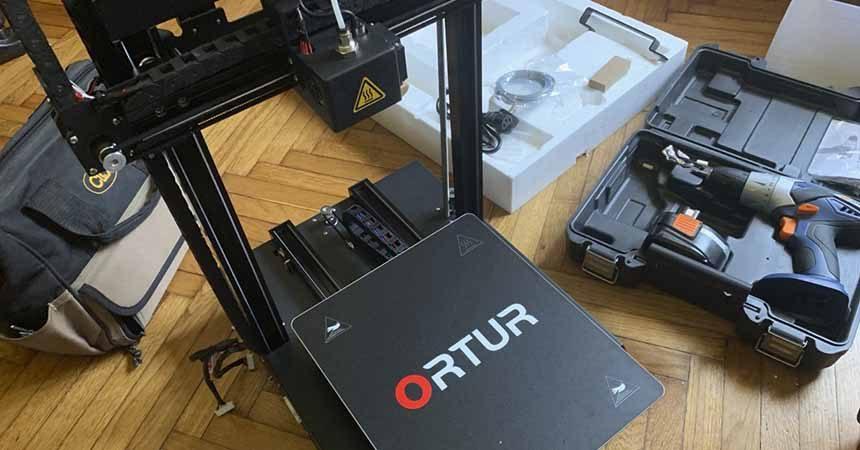 Ortur Obsidian 3D Printer Review
