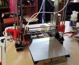 Zonestar P802QR 3D Printer Review