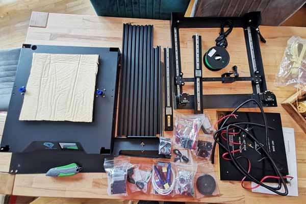 Sapphire Plus 3D Printer Review 1