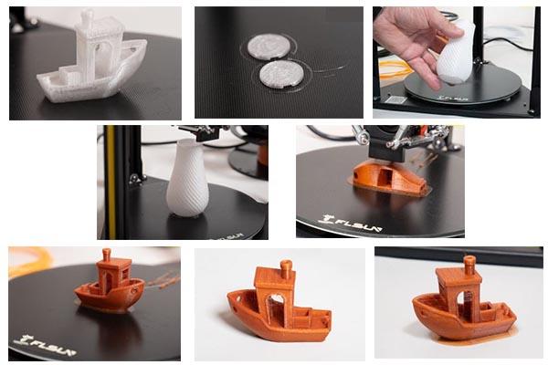 FLsun Q5 Delta 3D Printer Review 60