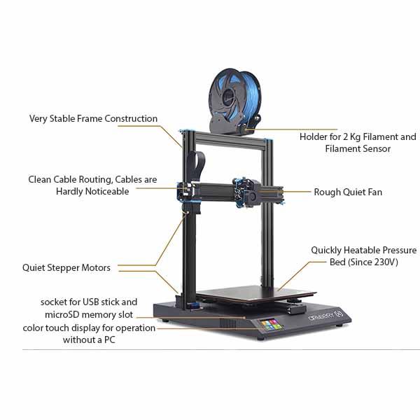 FLsun Q5 Delta 3D Printer Review 1