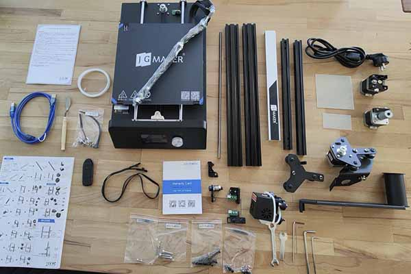 JGAurora 3D Printer Review 1