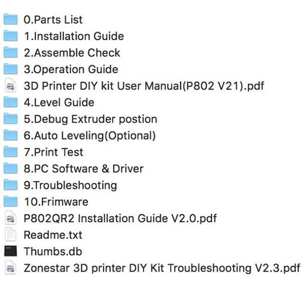 Zonestar P802QR 3D Printer Review 2