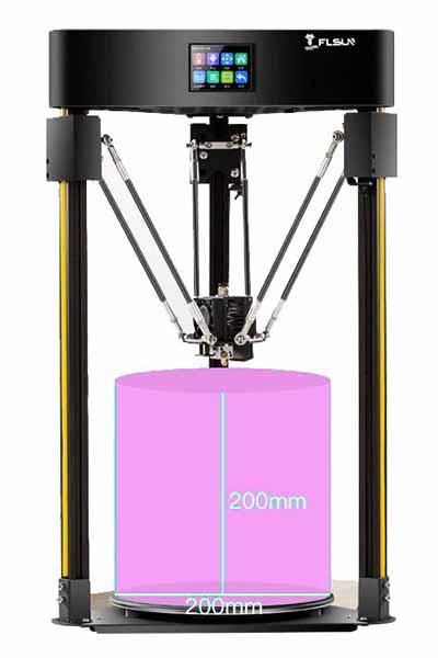 FLsun Q5 Delta 3D Printer Review 2