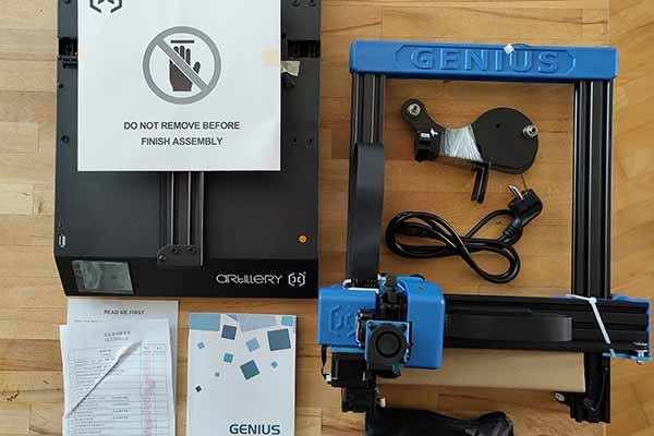 Artillery Genius 3D Printer Review 4