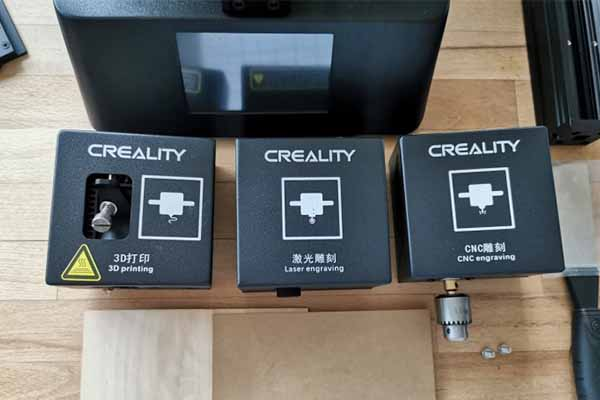 Creality CP-01 3D Printer Review 7