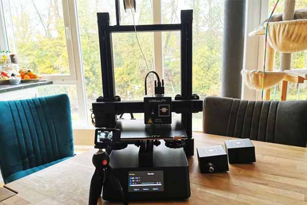 Creality CP-01 3D Printer Review 9