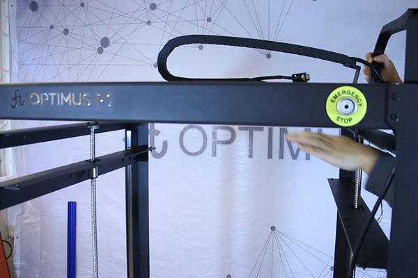Optimus P1 3D Printer Review 16