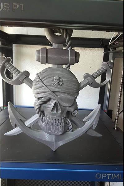Optimus P1 3D Printer Review 32
