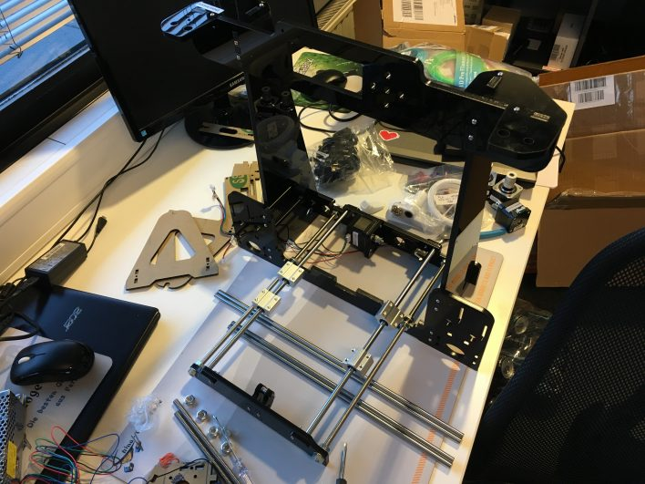 anet a8 assembly