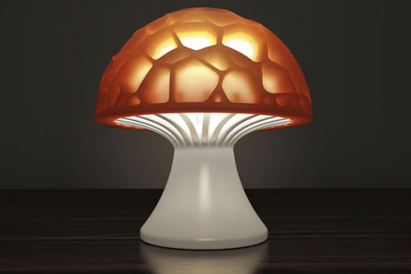 Voronoi Mushroom Lamp