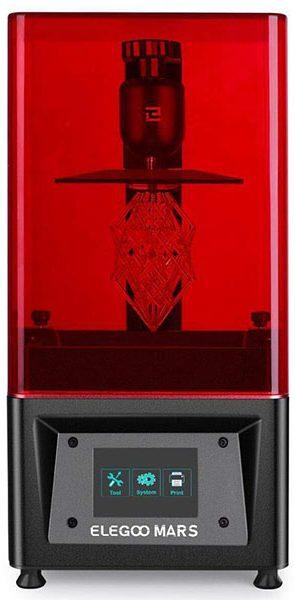 Elegoo Mars 3D printer (SLA-LED)
