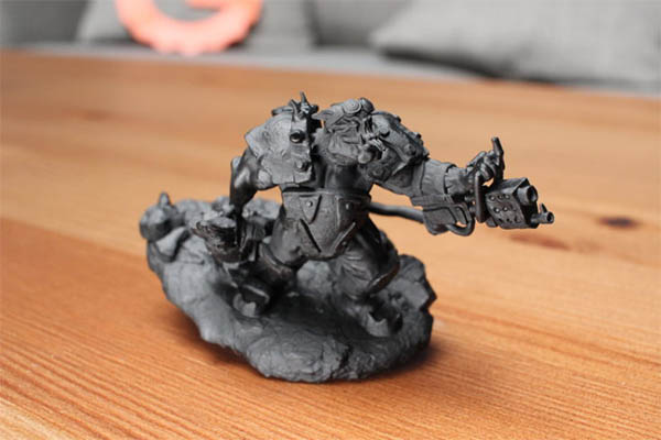 elegoo mars ork print primed and illuminated