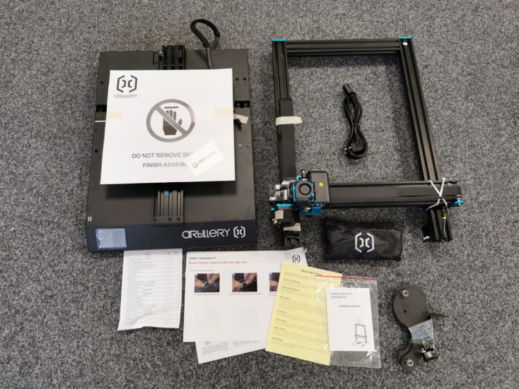 Artillery Sidewinder X1 3D Printer Review 8