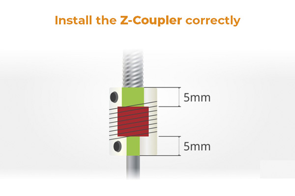 z coupler correct installation