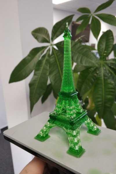 Nova3D Elfin Eiffel Tower 3D Print