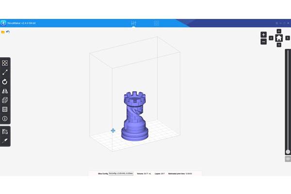 NovaMaker Slicing Software