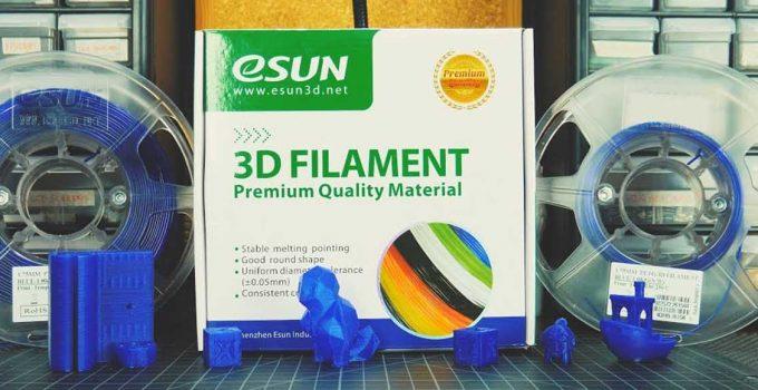 eSUN PETG Filament Review
