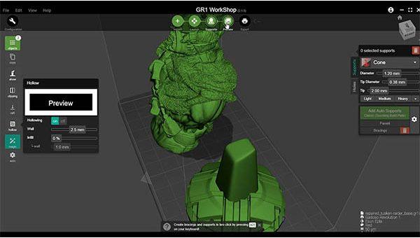 Wanhao GR1 3D Printer Review 27