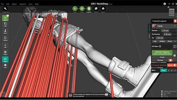Wanhao GR1 3D Printer Review 29
