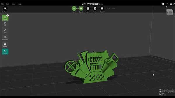 Wanhao GR1 3D Printer Review 35