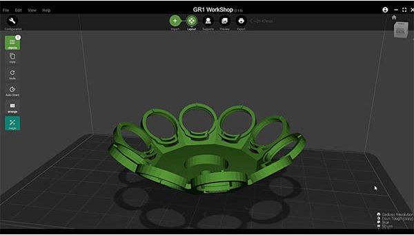 Wanhao GR1 3D Printer Review 45