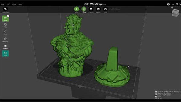 Wanhao GR1 3D Printer Review 56
