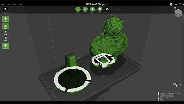 Wanhao GR1 3D Printer Review 57