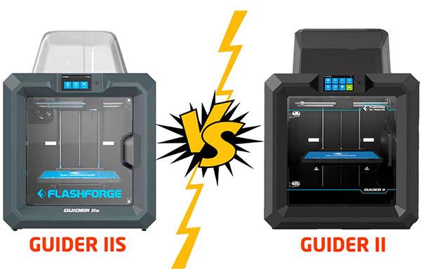 Flashforge Guider II vs Guider IIs: The Complete Comparison 1