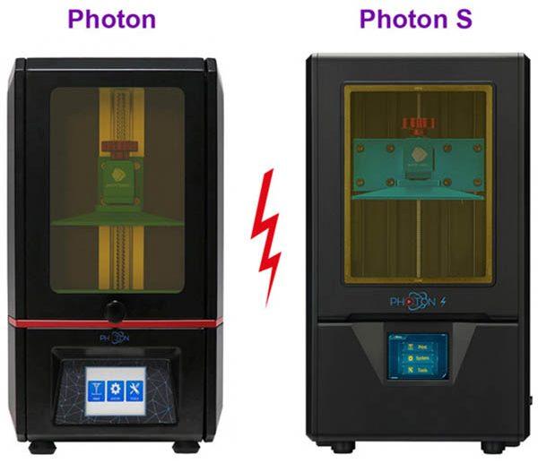 Anycubic Photon vs Photon S 1