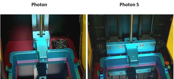 Anycubic Photon vs Photon S 12