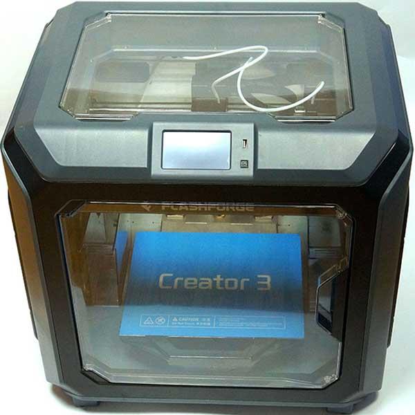 Flashforge Creator 3 3D Printer Review 2