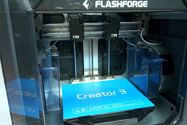 Flashforge Creator 3 3D Printer Review 6