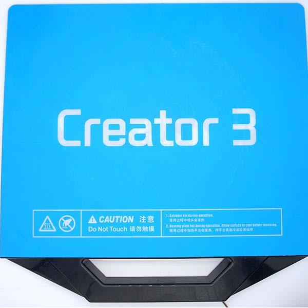 Flashforge Creator 3 3D Printer Review 10