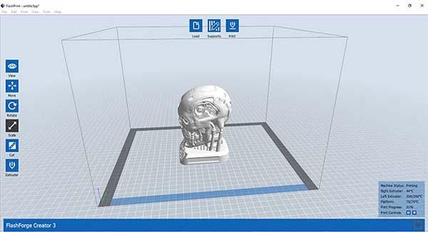 Flashforge Creator 3 3D Printer Review 11